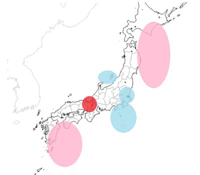 地震予知 国内M6注意 メインシグナルもスタンバイしています