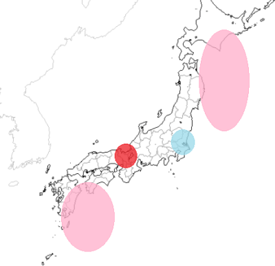 地震予知 M6シグナル 19回目の再発