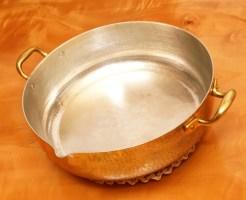 天ぷら鍋と言ったら銅鍋