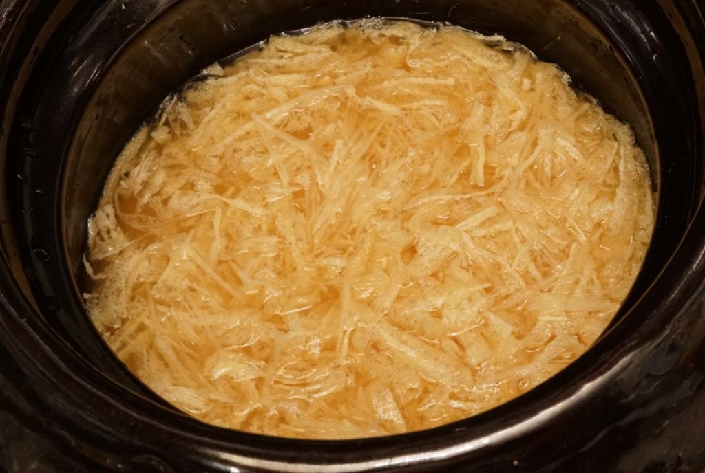 臭みを消すショウガと旨味の油揚げで炊き込みご飯