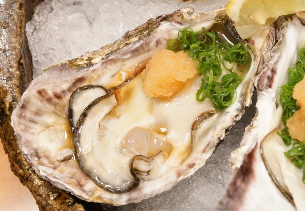 プリプリで美味しい生牡蠣