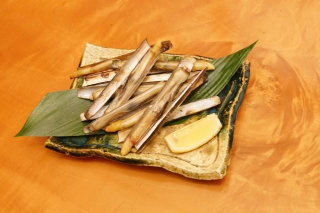 マテ貝の浜焼きは簡単で美味しい