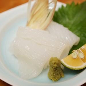 ケンサキイカの刺身!余った肝とゲソをホイル焼きにして食べると無駄なく美味しい!