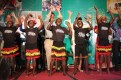 The talented African Children's Choir accompanied Emmanuel Jal's performance.