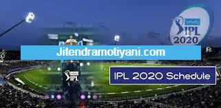 IPL 2020 Streaming Live