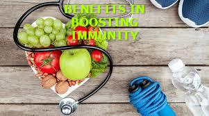 benefits in boosting immunity