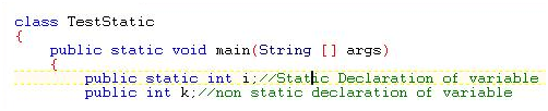 static Block Static Method Static Variable