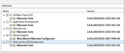 Eclipse Install New Software - Hibernate