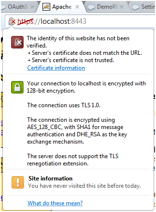 Https protocol in Tomcat - SSL Enabled