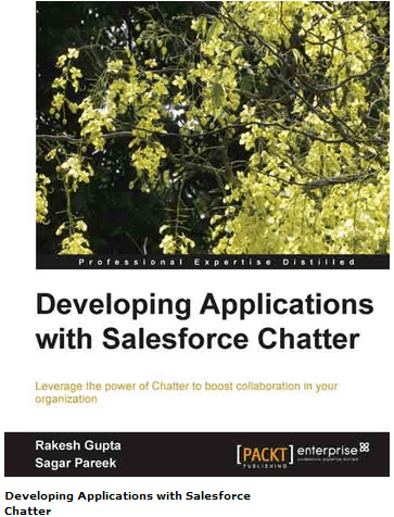 Developing Applications with Salesforce Chatter