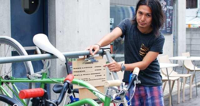 カフェなのに無料レンタサイクルやシャワーまで!自転車をテーマにした「Pillar Cafe」 が面白い【後編】