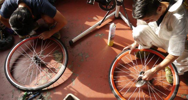 Sow Experienceの新サービス、Deweyで自転車メンテナンス体験をしてきたよ。
