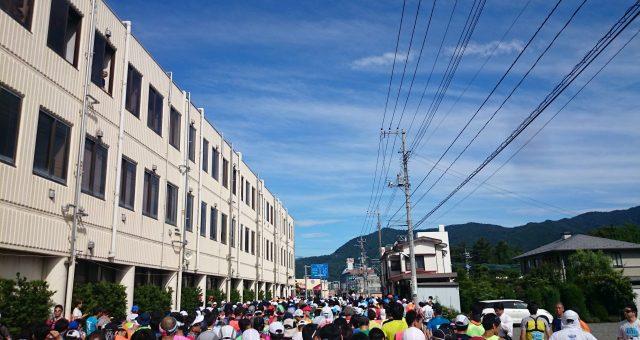 2015年7月24日、富士登山競走に初参加してきました
