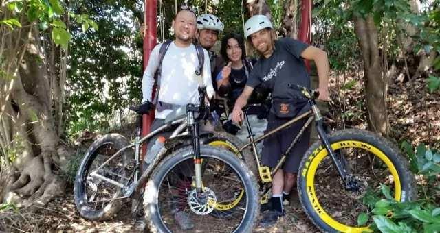 MTB(マウンテンバイク)のコース選びと仲間の集め方