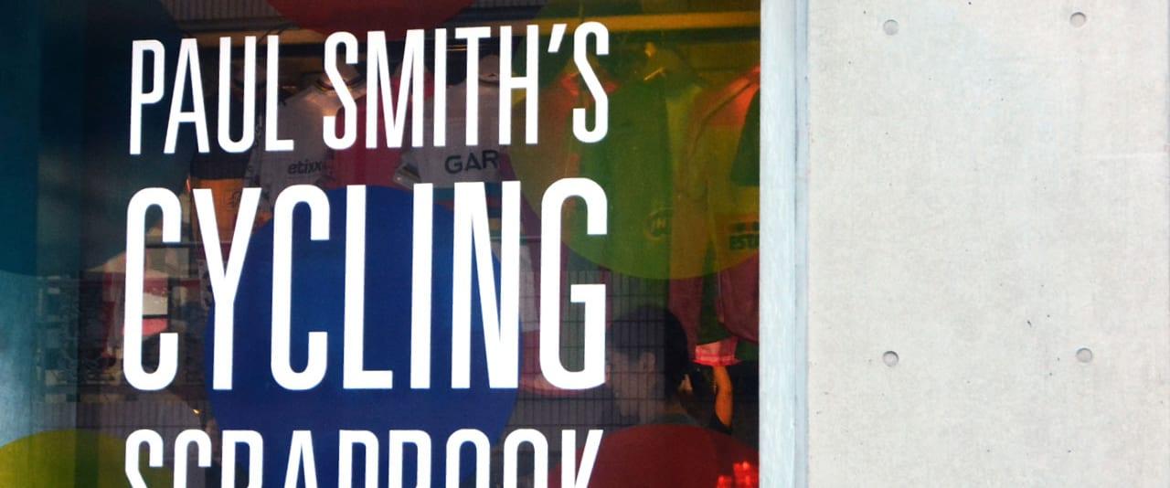 ポール・スミス氏来日イベント!自転車愛に溢れるビジュアルブック 「PAUL SMITH'S CYCLING SCRAPBOOK」サイン会レポート