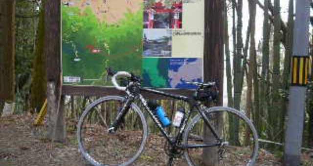 金蔵寺から花の寺へのサイクリング