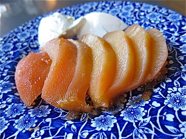 Baked Quince; Dessert or Side Dish?