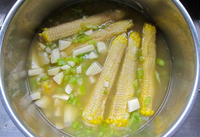 fresh Sweet Corn creamy soup