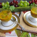 wedding menu, cold soup, vegetarian, raw soup, summer soup, healthy recipe, recipe,