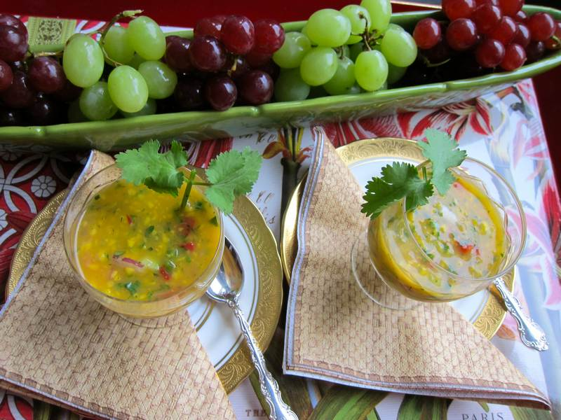 Mango Gazpacho – Enchanting Summer Soup
