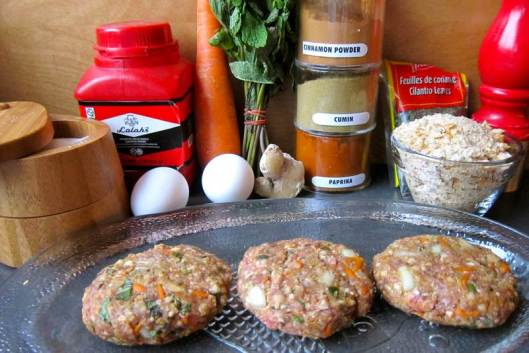 Moroccan Burger Ingredients