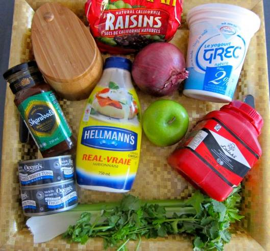Curry Tuna Wrap Ingredients