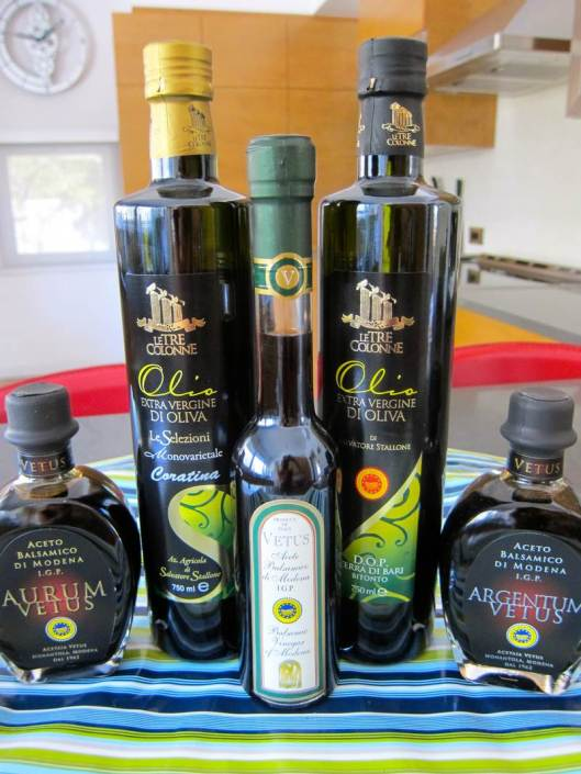 Extra Virgin Olive Oil and Balsamic Vinegar