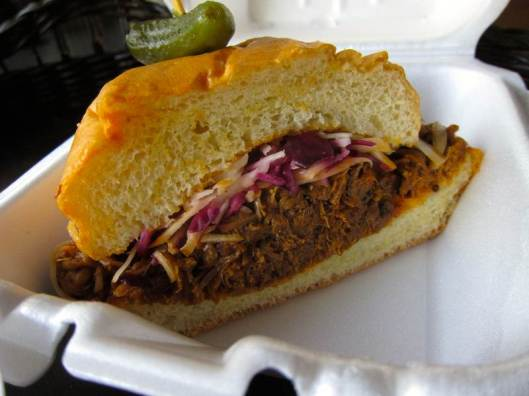 Orange Cafe Montreal Pulled Pork Sandwich