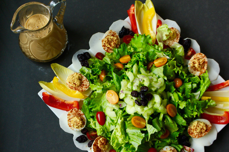Kripalu's House Dressing - Makes the Meal