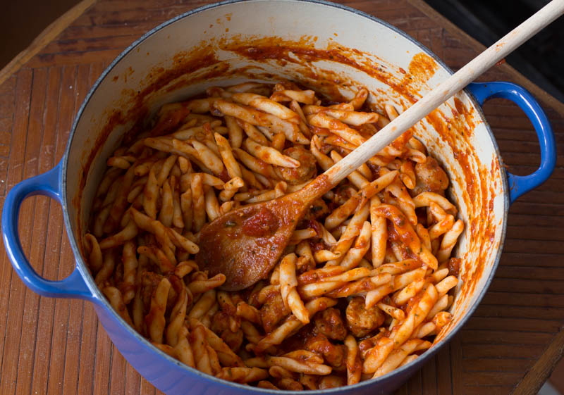 Chicken Marinara Pasta