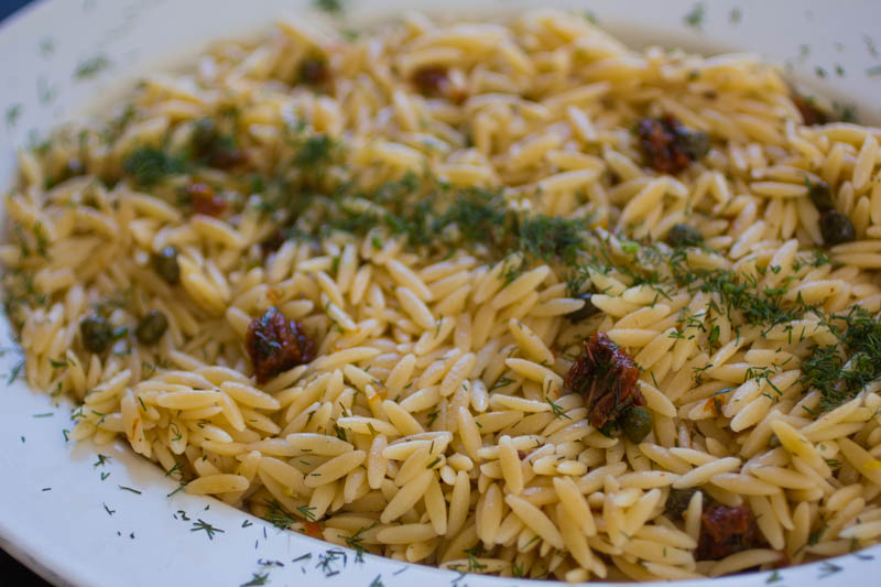 Sun-Dried Tomato Orzo