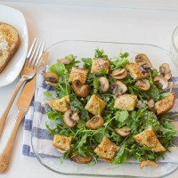 Savoury French Toast Crouton Salad - Seriously?