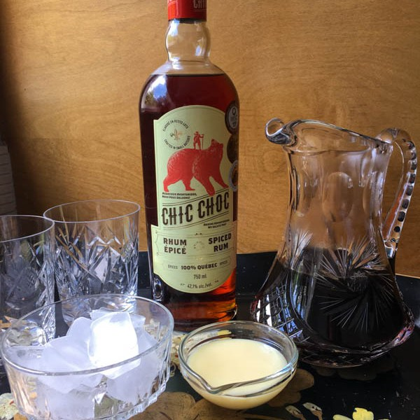 "Iced Rum Coffee – ""Time Flies When You're Having RUM"""