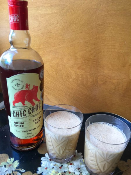 Iced Rum Coffee, rum, coffee, rum coffee recipe, iced coffee, condensed milk, coffee drink, summer coffee drink, coffee cocktail, Quebec rum, Chic Choc Rum, review, product review, rum review