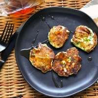 Cottage Cheese Chive Pancakes- Chock-full of Flavour