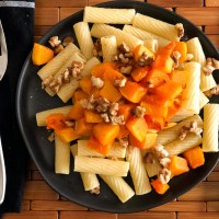 Roasted Butternut Squash Pasta - Just 4 Ingredients