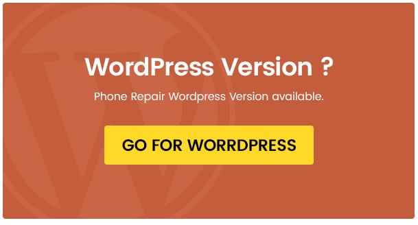 Phone, computer repair WordPress theme - Fixit