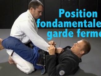 technique jiu jitsu base garde fermée