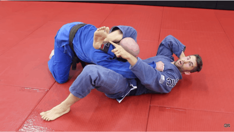 Scissor Sweep White Belt Triangle Choke Setup