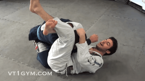 Critical BJJ Technique - How to Finish the Triangle Choke Submission
