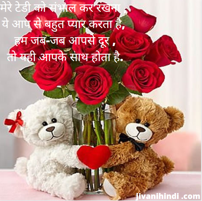 teddy day hindi