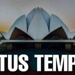 Lotus Temple History