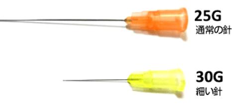 注射針の写真