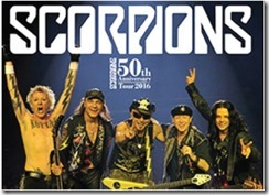 催し       Scorpions 50th Anniversary Tour 2016