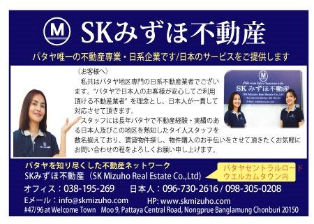 SKみずほ不動産の広告