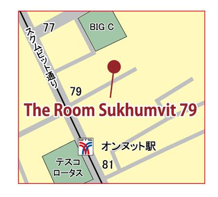 ザ ルーム スクムビット 79の地図