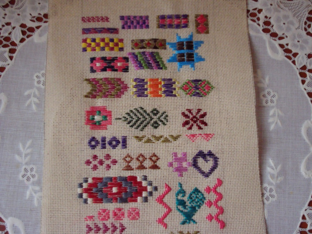 pattern darning part-1