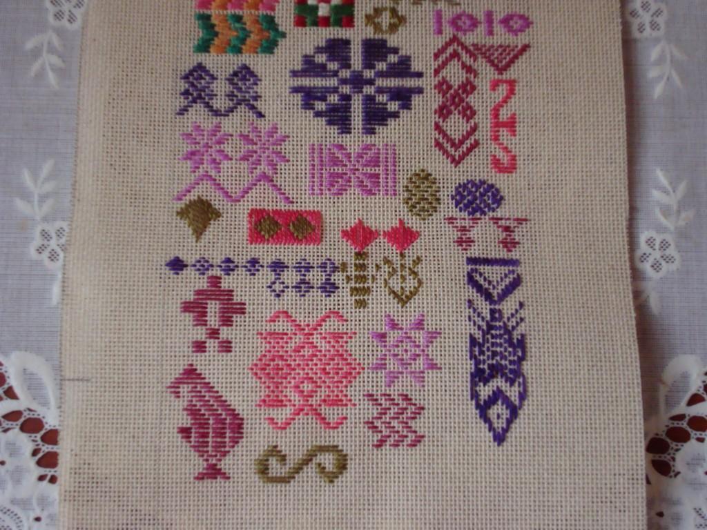 pattern darning part-2