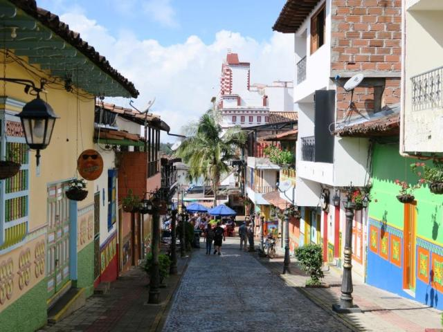 Kunterbuntes Kolumbien
