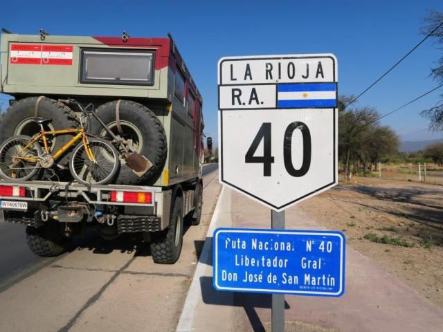 Auf der legendären Ruta 40